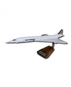 Maquette bois Concorde Air France - 1/100e