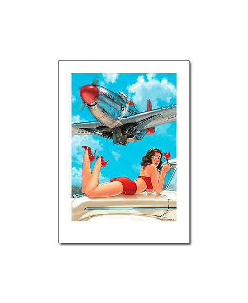 Affiche Pomme d'amour - Romain HUGAULT - 50 x 70 cm