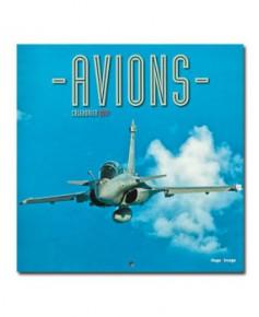 Calendrier mural Avions 2017