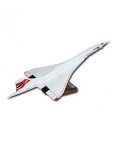 Maquette bois Concorde British Airways
